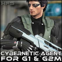 HFS More Than Human: Cybernetic Agent