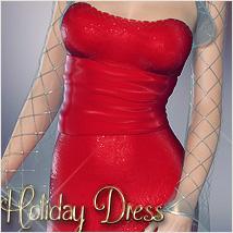 Dynamic Holiday Dress