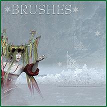 doarte's WINTER HOLIDAYS Brushes