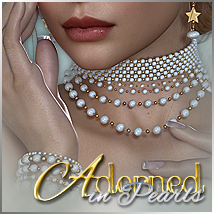 SV's Adorned in Pearls