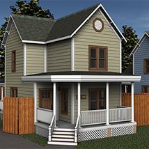 Modern Home 1 (Poser & DS)