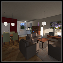 Cheap and cheerful apartment