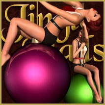 Jingle Balls: Poses, Props & Outfit for V4