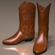 Mysthero's Classic Westernboots