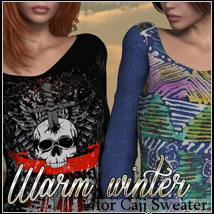 Warm Winter for Cajj Sweater