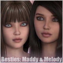 Sabby-Besties: Maddy & Melody