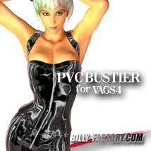 V4 PVC BUSTIER