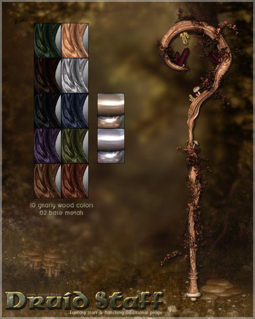 WoW – Druid Staffs