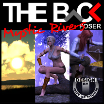 THE BACK Mystic Rivers - POSER