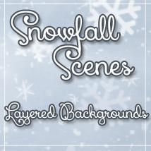 SnowFall Scenes PSDs