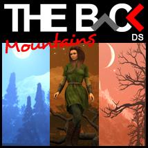 THE BACK Mountains - DAZ Studio
