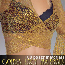Golden Lacy Materials