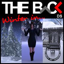 Winter in THE BACK - DAZ Studio