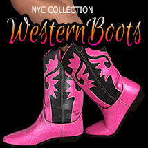 NYC Collection: Classic Western Boots