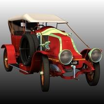 RENAULT V1 1909 (for Poser)