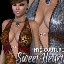 NYC Couture: SweetHeart V4/A4/G4