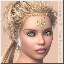 AM: 3Dream-Jewels 2 for Master Scull Cap