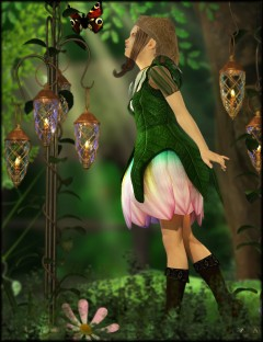 Fairy Princess for Genesis 2 Female(s)
