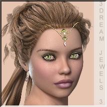 AM: 3Dream-Jewels 3 for Master Scull Cap