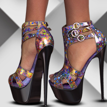 A_3DS Glamour Heels