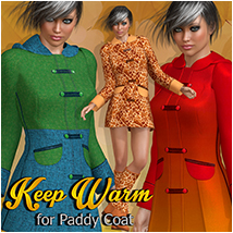 Keep Warm for Paddy Coat