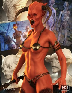 Creature Creator HD for Genesis 2 Female(s)