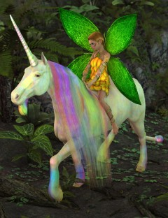 SF Unicorn for DAZ Horse 2