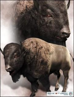 3D Bison