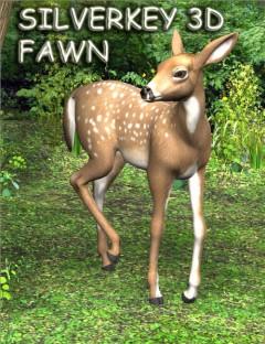 SilverKey 3d Fawn