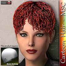 Cartoon Hair- MSC