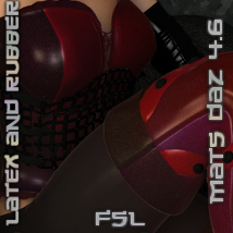 FSL Latex and Rubber DAZ 4.6