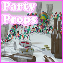 Party Props by 3-D-C