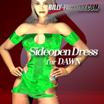 Dawn Sideopen Dress