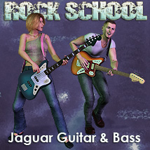 Rock School Jaguar Lead & Bass