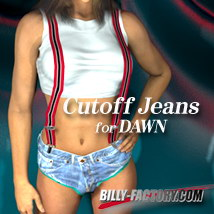 Dawn Cutoff Jeans