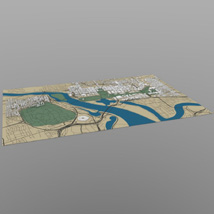 Washington DC Cityscape (for Wavefront OBJ)
