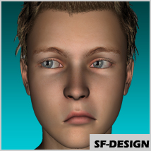 Facial Expressions I for Genesis