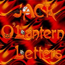 Harvest Moons Jack OLantern Letters