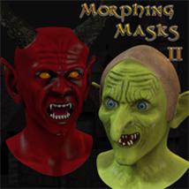 Morphing Halloween Masks II
