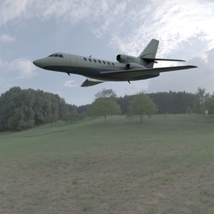 Dassault Falcon 50 (for Wavefront OBJ)