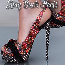 NYC SlingBack Heels