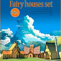 Fairy houses set