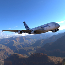 Airbus A380 (for Wavefront OBJ and Vue)