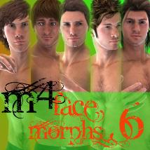 Farconville's Face Morphs for Michael 4 Vol.6