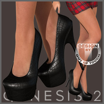 Sexy Pumps for Genesis 2 Female(s)- V6/G6/Gia