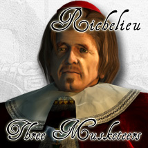 Three Musketeers - Richelieu
