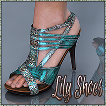 NYC Collection: Lily High Heels