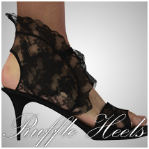 SP- Ruffle Heels for V4