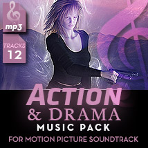 Action & Drama Music Pack
