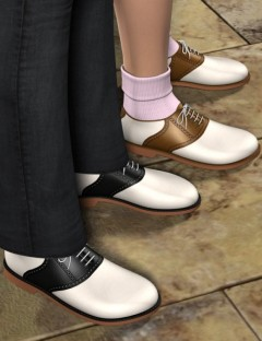 Saddle Oxfords for Genesis